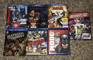 DC animated blu-ray movies for Sale in Austin, TX