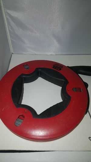 "Gardner Bender FTS-125R Fish Tape Reel 1/8 inch x 125""feet for Sale in Dallas, TX"