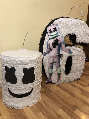 Dj Marshmellow Head Pinatas for Sale in Montclair, CA