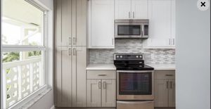 Kitchen cabinets Grey and white shaker combination for Sale in Delray Beach, FL