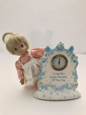 Precious Moments - Little Girl With Clock for Sale in Grand Island, FL