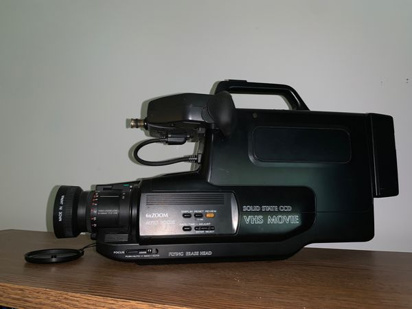 VHS Movie Solid State CCD video Camera