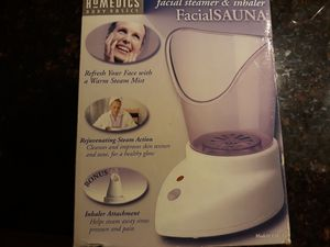 Facial Steamer&Inhaler Homedics for Sale in Chicago, IL