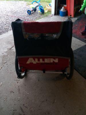 Pull behind bike trailer for kids for Sale in Eastlake, OH