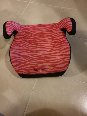Pink booster seat for Sale in Oak Point, TX