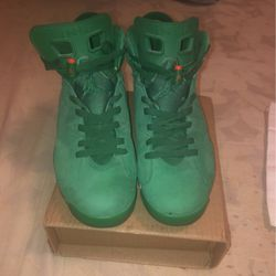 Air Jordan 6 Retro Nrg Green Suede Gatorade I Would Also Trade For A SE Bike 26-29 Tires for Sale in Merchantville, NJ
