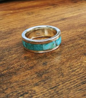 Turquoise purple. Turquoise and Tiffany Stone and Spinner rings for Sale in Fair Oaks, CA