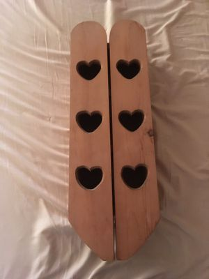Small heart shelf with doors that open for Sale in Pearl River, LA
