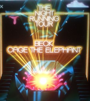BECK AND CAGE THE ELEPHANT TONIGHT HARD GA TICKETS FOR SALE BELOW COST for Sale in Mesa, AZ