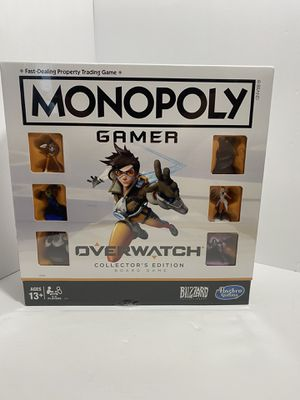 Monopoly overwatch collectors edition for Sale in Weston, FL