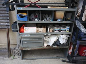 Metal shelves for van for Sale in San Francisco, CA