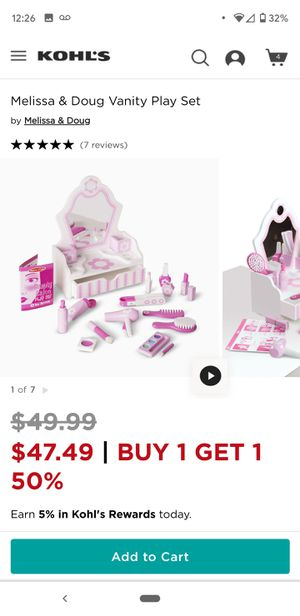 New Melissa and Doug Vanity beauty salon for Sale in Cupertino, CA