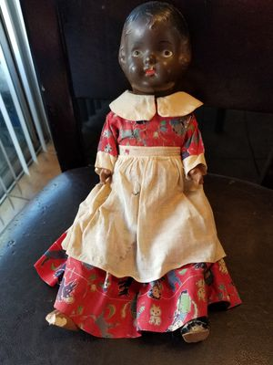 Antique Black Doll for Sale in Moreno Valley, CA