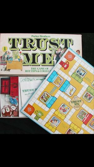 "VINTAGE Board game ""Trust me"" for Sale in Charlotte, NC"