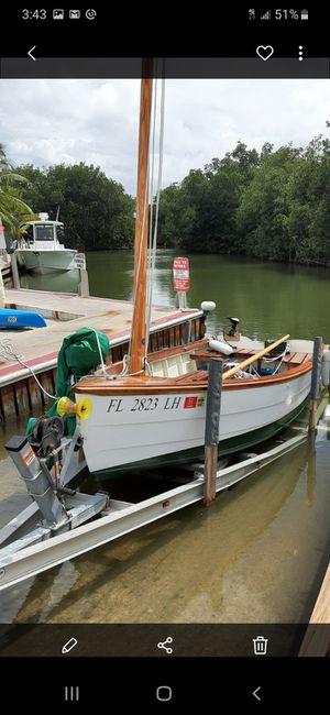 Sailboat 15 FT optional 4 stroke motor. for Sale in Miami, FL