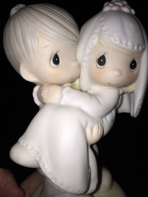 "Precious moments married couple 1982 ""Bless You Two"" for Sale in Bel Air, MD"
