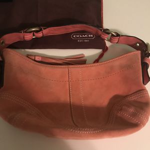 Coach 1941 Hobo Suede Leather Mini Shoulder Bag for Sale in Beverly Hills, MI