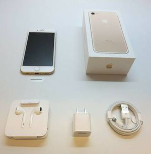 Unlocked new in box apple iphone 7 128 gb for Sale in Fresno, CA