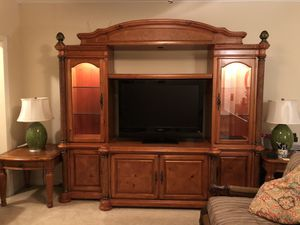 5-Piece Entertainment Center w/ End Tables, etc... for Sale in Kissimmee, FL