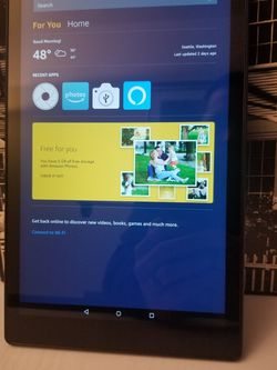 Amazon Fire HD 10 Tablet for Sale in Arvada,  CO