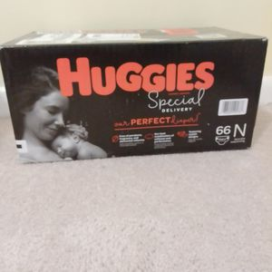 Huggies Special Delivery Hypoallergenic Newborn Up To 10 Ib Diaper. 66 Counts for Sale in Tucker, GA