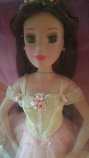 Brand new Beauty and the Beast Disney collection brass key porcelain doll for Sale in Bonney Lake, WA