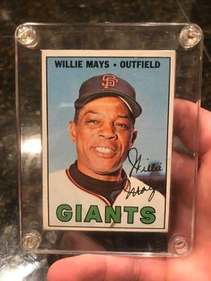Willie Mays baseball card for Sale in Gresham, OR