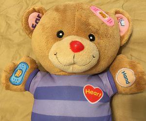 Care & Learn Teddy. Electronic talking bear for Sale in Cedar Park, TX