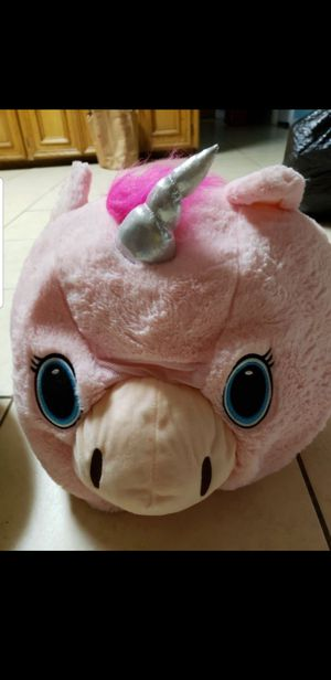 Unicorn Halloween Mascot Head/ Mask for Sale in Houston, TX