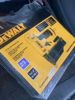 Brand new DEWALT 23 Gauge Pin Nail Gun for Sale in Washington, DC