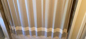Grey Turkish Towel Shower Curtain for Sale in Edmonds, WA