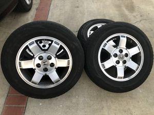 Honda Odessey wheels n tires for Sale in Los Angeles, CA