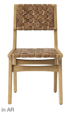 Wooden Woven Brown Chair 🔥 Price $30 Retails $140 for Sale in Houston, TX