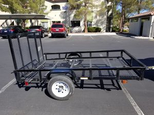 2020 Brand New 5x8 Utility/ATV Trailer. Purchased Last Week. Brand New. Less than 50miles. Not a Single Scratch. Rear Ramp Gate. All Lights Work. for Sale in Las Vegas, NV