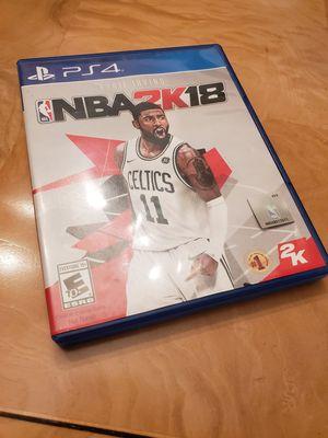 NBA 2K18 For PS4 for Sale in Philadelphia, PA