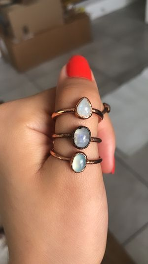 Electroplated copper rings for Sale in Miami, FL