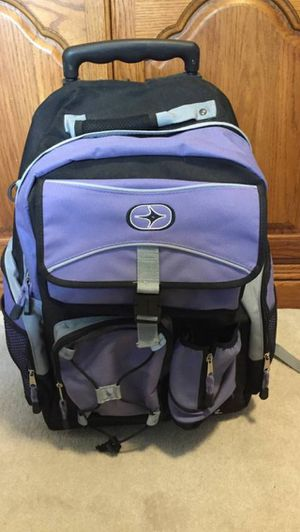 Sports Backpack With Wheels and Telescopic Handle for Sale in Henderson, KY
