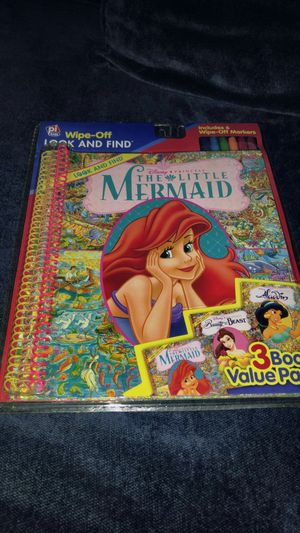 Little Mermaid Activity Book for Sale in Damascus, MD