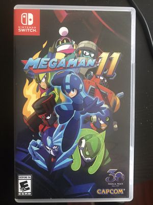 Mega Man 11 Megaman Nintendo Switch for Sale in Los Angeles, CA