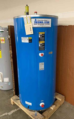 114 gallon THERMA-STOR WATER HEATER WITH WARRANTY RH for Sale in Fort Worth, TX