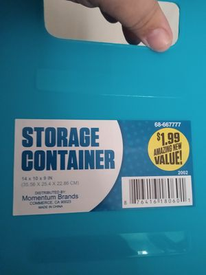 Storage container for Sale in ELEVEN MILE, AZ