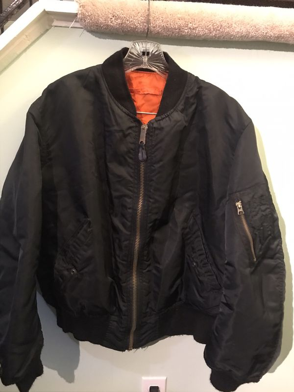 Canal Jean Co. Reversible Bomber Jacket