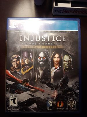 PS4 game INJUSTICE GODS AMONG US for Sale in Chula Vista, CA