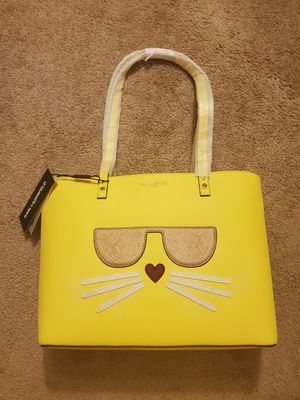 Karl Lagerfeld yellow bag for Sale in Pittsburgh, PA