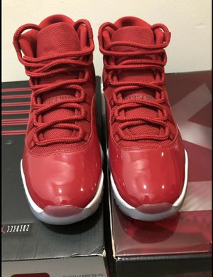 """Jordan retro 11's """"win like 96"""" for Sale in Tigard, OR"""