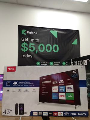 "43"" TCL ROKU TV for Sale in Colton, CA"