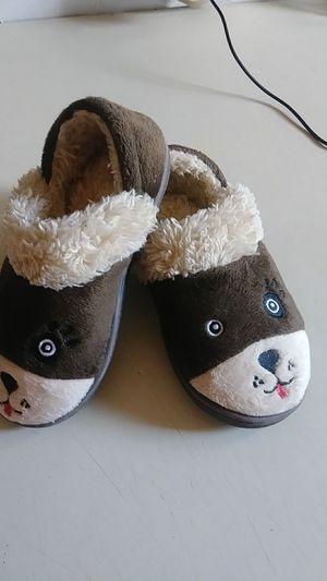 Fluffy Teddy Bear Toddler slippers for Sale in Tooele, UT