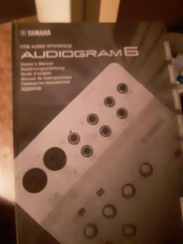 Yamaha interface cubebase 6 studio program with manual