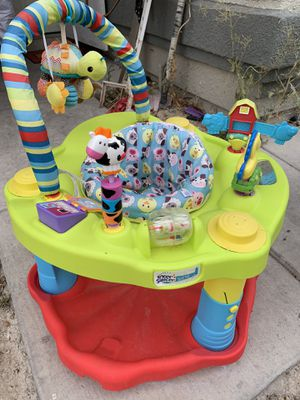 Evenflo Exersaucer baby active for Sale in North Las Vegas, NV