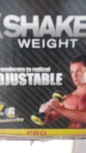Shake weight Pro. Exercise equipment. Gag gift for Sale in Fort Lauderdale, FL